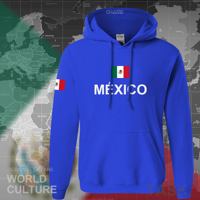 Mexico team 2017 hoodies men sweatshirt sweat new streetwear clothing jersey sporting tracksuit nation Mexican fleece MX MEX 2
