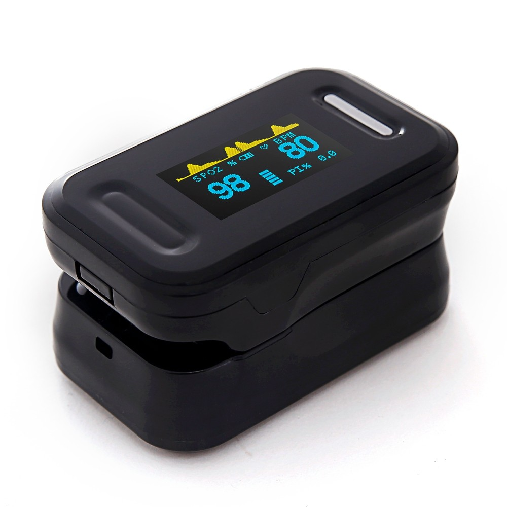 Fingertip Pulse Oximeter PR Medical   and Silicone protective cover Blood Oxygen Saturation Meter CE SPO2Fingertip Pulse Oximeter PR Medical   and Silicone protective cover Blood Oxygen Saturation Meter CE SPO2