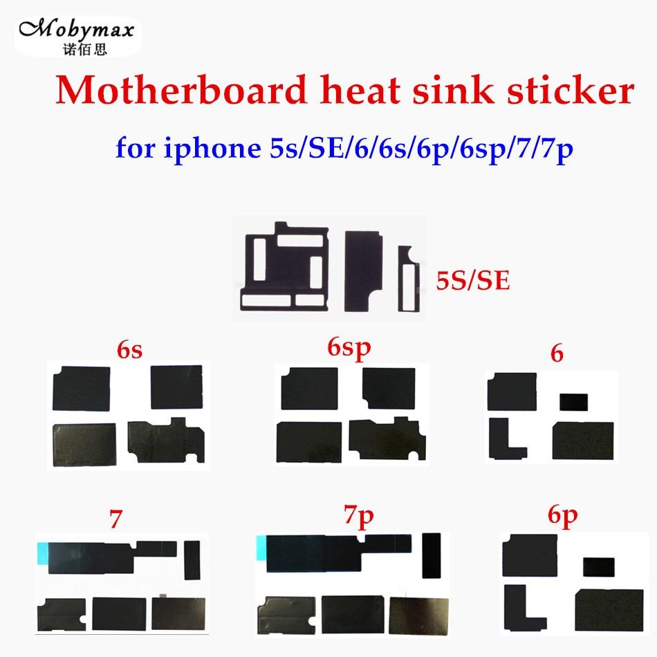 Motherboard Anti-static Sticker Heat Sink Sticker for iPhone 7 7 Plus 6 6S Plus SE 5S Glue Logic Board Heat Dissipation Cooling