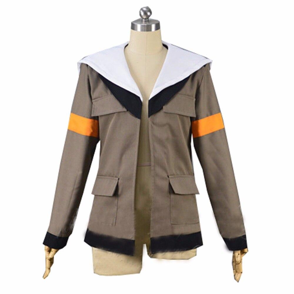 2017 Voltron Legendary Defender Lance Cosplay Costume Lance Hood Jacket For Halloween Carnival Top Coat Custom Made