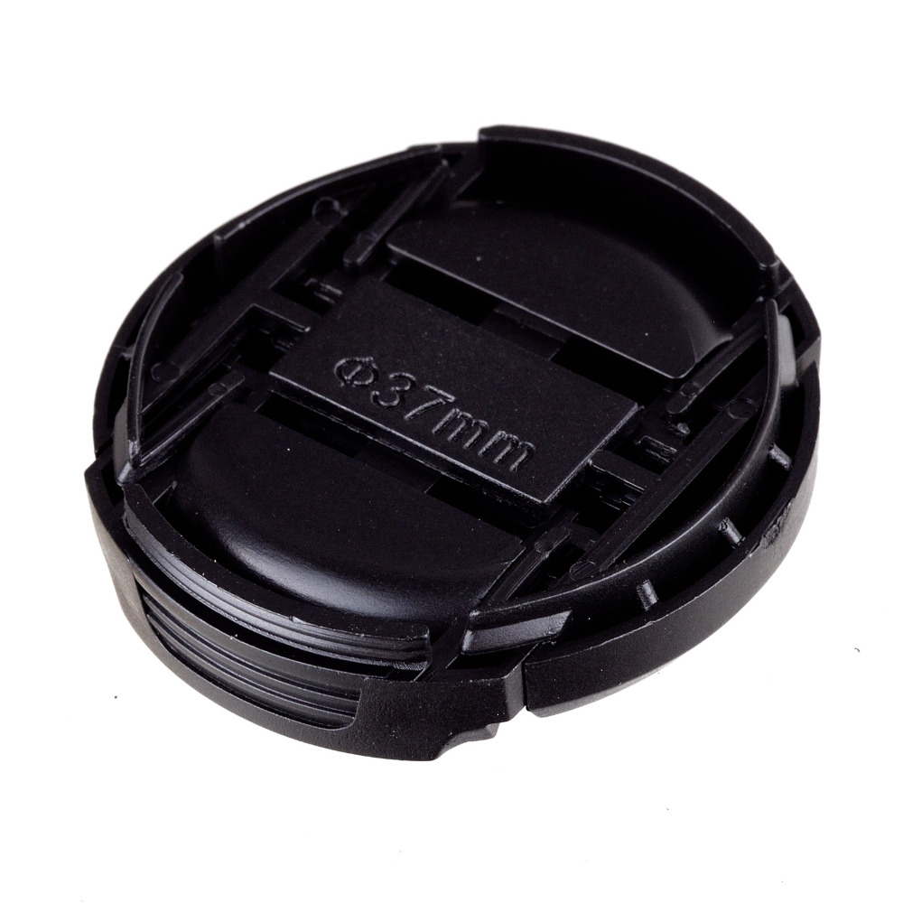 NEW ARRIVAL wholsesale 100 pcs 37mm Snap-on Front Lens Cap Cover for Camera Sigma Lens free shipping цена