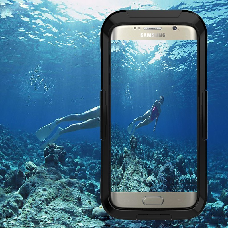 IP68 Rafting Swimming Waterproof Shell For Samsung Galaxy S7edge S7 Edge Underwater Phone Bag Case Cover
