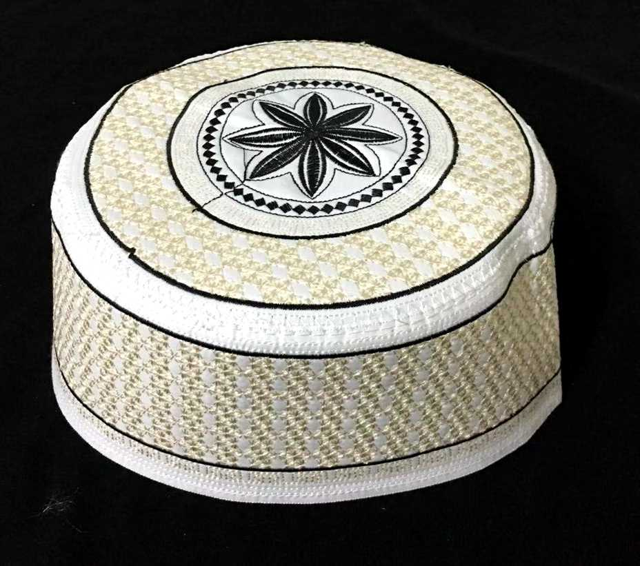 6pcs lot can mix patterns New flower type Muslims male hat islamic men caps  turban c097a13bbbf0