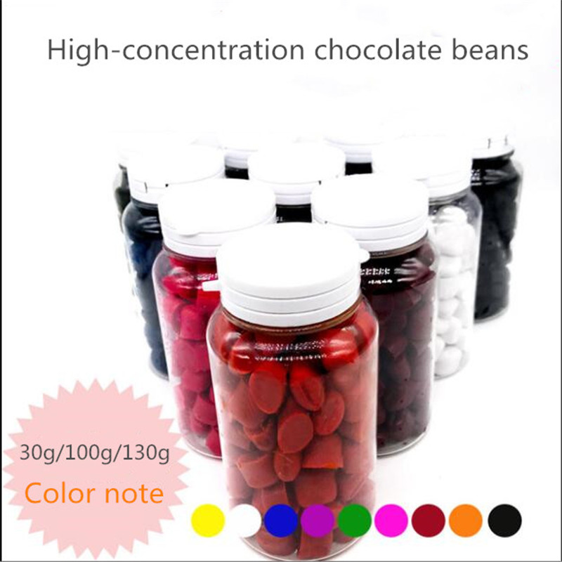 Edible Chocolate Beans Baking Beans Coloring Food Grade Color Starry Chocolate Sandblasting Leopard Mousse 30g/100g/130g image