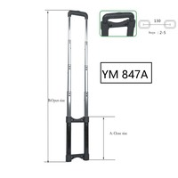 Replacement Trolley Luggage Suitcase Telescopic Trolley Handle