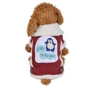 FQ33 Classic Winter Pet Dog Coat Hoodie Clothes Super Warm Small Puppy Dog Cat Jacket Penguin