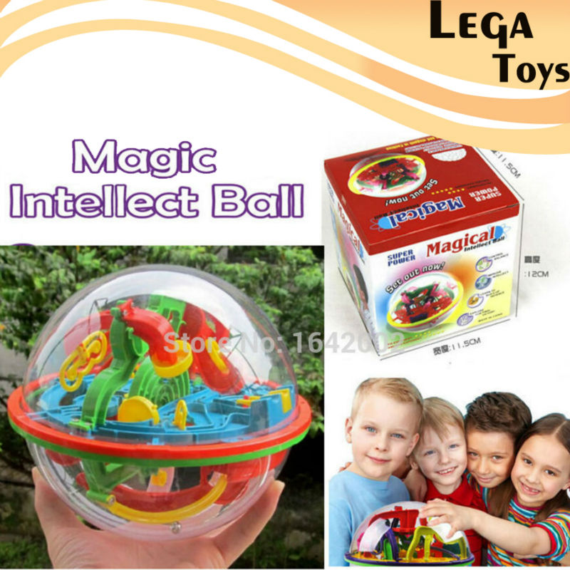 929A Puzzle Magic Intelligence Ball 3D Maze Ball Educational Toys 100 Levels Original Maze Game Children Gift Labyrinth