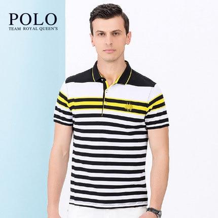 Royal Queen s Polo Team brand font b Men b font 2017 new short sleeved tee