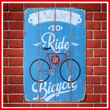 New Vintage TO RIDE CYCLES Metal Signs Home Decor Vintage Tin Signs Pub Vintage Decorative Plates Metal Wall Art Hot