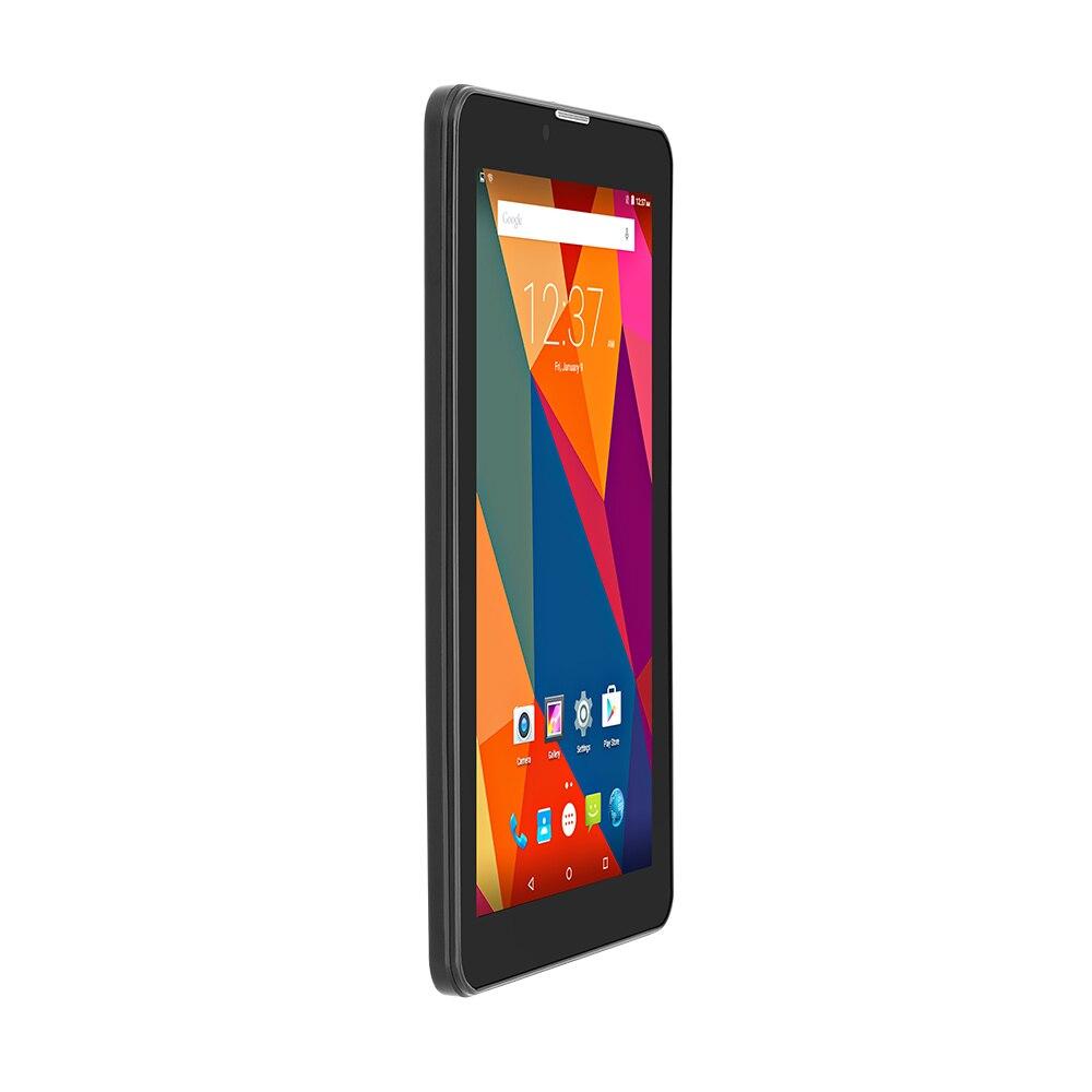Yuntab Nouveau 7 ''E706 GPS Double SIM Mini Carte Quad Core écran Capacitif 1024*600 Double Caméra 1 GB + 8 GB Téléphone Tablet pc