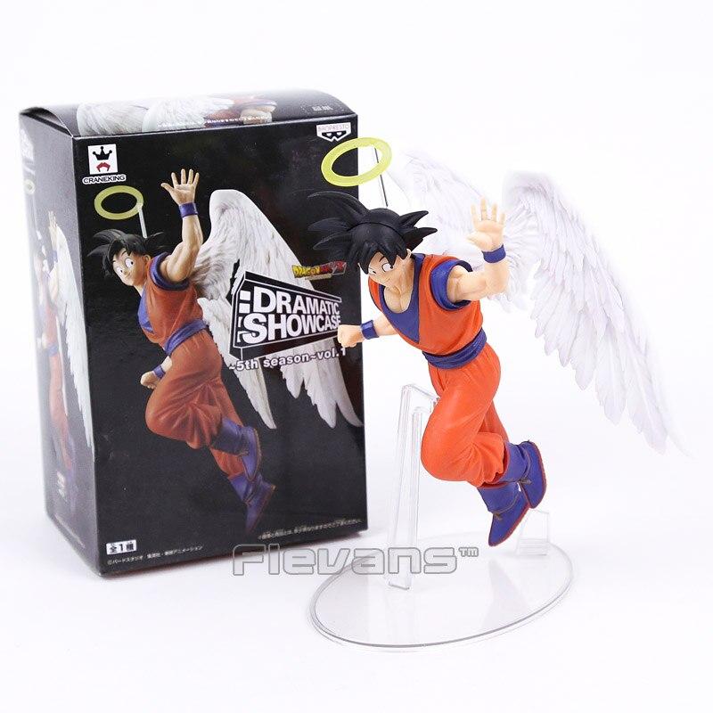 Dragon Ball Z Angel Son Goku Banpresto Dramatic Showcase 5th Season Vol 1 PVC Figure Collectible