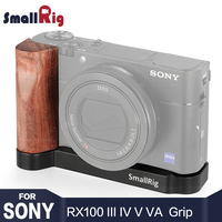 SmallRig rx100 Grip DSLR Camera Rig L shape wooden grip for Sony RX100 III IV V VA Camera Soft Hand Grip Light Weight 2248
