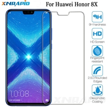 Suitable for huawei honor 8X toughened glass screen protective cover for huawei honor 8X 8pro 8C full cover protective film 8X nillkin h toughened glass screen film plat edge for huawei honor 4x