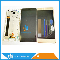 Black White Gold Color CPU MTK Helio X20 For Xiaomi Redmi Note 4 Note4 LCD Display