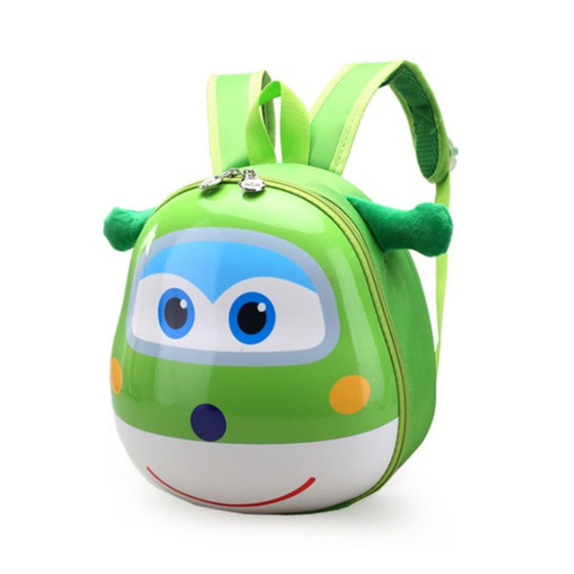 0f2f4ce2827 Super Wings Mini Airplane PC Robot Super Wing Baby Backpacks Rucksack Kid s  Shoulders Bag Animation Kids Gift