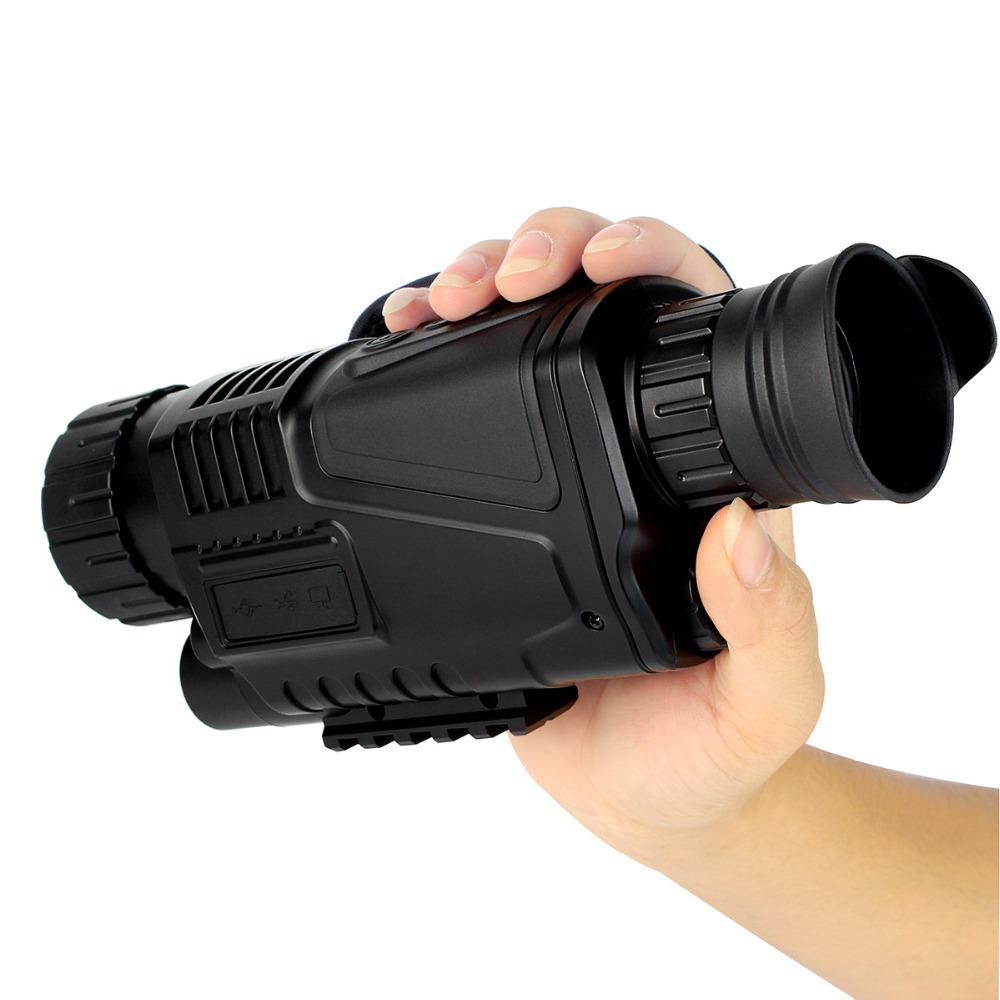 1.5 LCD Night Vision 5x40 Digital Monocular Zoom Scope Video Photo Playback IR New Arrival dhl shipping infrared digital night vision monocular scope 5x40 for 200meter zoom 5x ir 5mp digital camera video in ccd