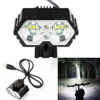 Waterproof LED Bicycle Light 5 Modes 360 Degree USB Rechargeable 3000Lm LED For Camping Hunting Fishing Lamp With Bracket