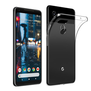 Image 3 - Shockproof Full Protection Phone Case For Google Pixel 2 3 3a 4 XL Crystal Soft Silicon Coque for Google Pixel XL 2 Pixel3 Cover