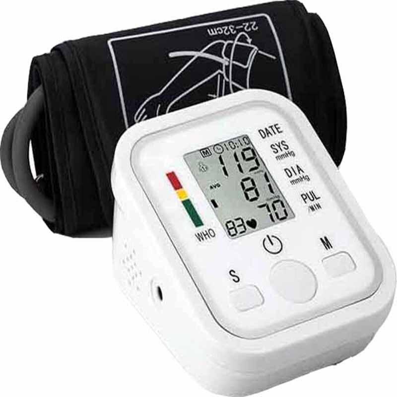 Home Health Care Automatische Digitale Lcd Oberen Arm Blutdruck Monitor Herzschlag Rate Pulse Meter Maschine Tonometer Mess