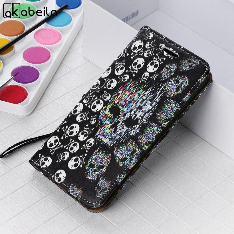 AKABEILA Relief Flip Phone Cases For Samsung Galaxy J3 Prime J3 Emerge J327P J3 Eclipse J327V Case Wallet Cover Card Holder