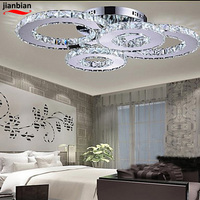 High End Fashion Ceiling Lamp LED Crystal Lamp Creative Ceiling Lamp Bedroom And Living Room