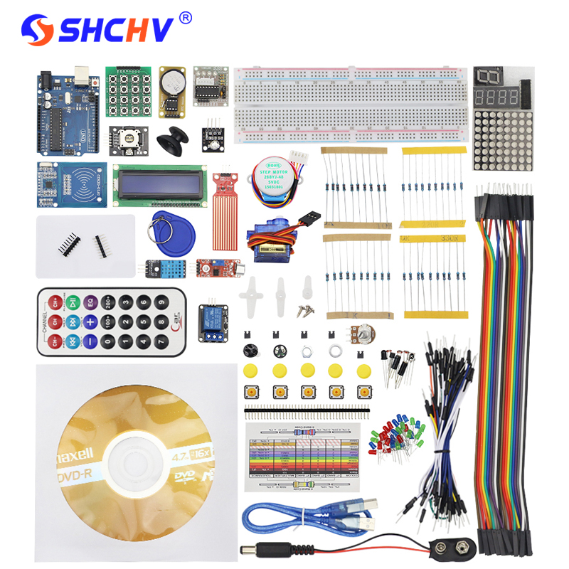 2017 RFID Starter Kit For Arduino For UNO R3 Upgraded Advened Version Learning Suite With Retail