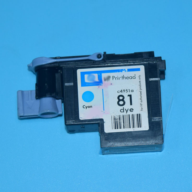ФОТО For HP 81 Remanufactured Print head for hp Designjet 5000 5500 printer CYAN color