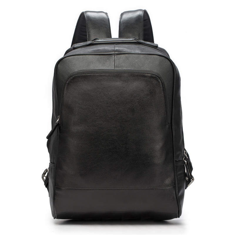 Men Backpack Genuine Leather Men School Bags Fashion Male Travel Backpack Black Shoulder Bag Large Capacity Men Bag 25% OFF 2107 casual men genuine leather backpacks male large capacity shoulder travel bag daypack student laptop backpack school bags mochila