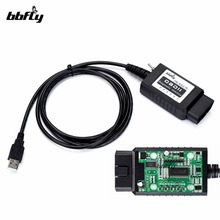 bbfly BF32302 ELM327 USB modified FTDI chip OBD2 Forscan ELMconfig HS CAN / MS CAN OBD