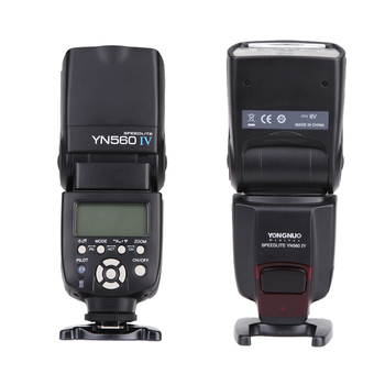 YONGNUO YN560 Ⅳ 2.4GHZ camera Flash light accessories Speedlite Wireless Transceiver Integrated for Canon for SONY Camera