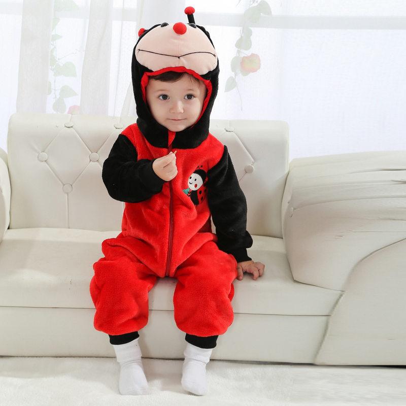 Purim Festival Halloween Xmas Costume Infant Baby Boys Girls ladybug Anime Rompers Cosplay Newborn Toddlers Clothing