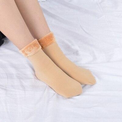 Scoks Winter Warm WOMEN NEW SYTLE Fashion Thicken Thermal Wool Cashmere Snow Socks Seamless Velvet Boots Floor Sleeping Socks