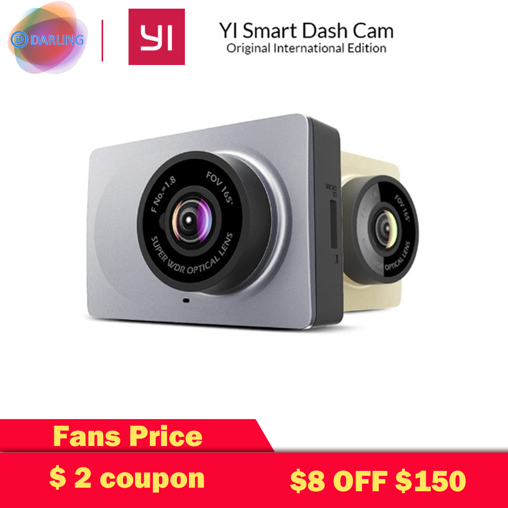 [Édition internationale] Xiaomi YI Smart Car DVR 165 degrés 2.7