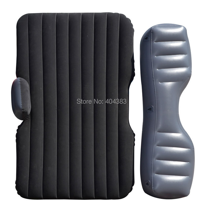 2 Pillow as gift Car back Seat inflatable Air Mattress bed Car inflatable bed universal High quality flocking inflatable Cushion 2014 intex high quality senior flocking single air bed
