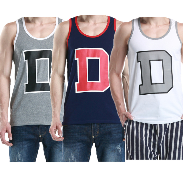 10641825d939b Muscle Man Bodybuilding Tank Tops Tight Wicking Men Vest Cotton Undershirt  Stringers Top Male Summer Clothing