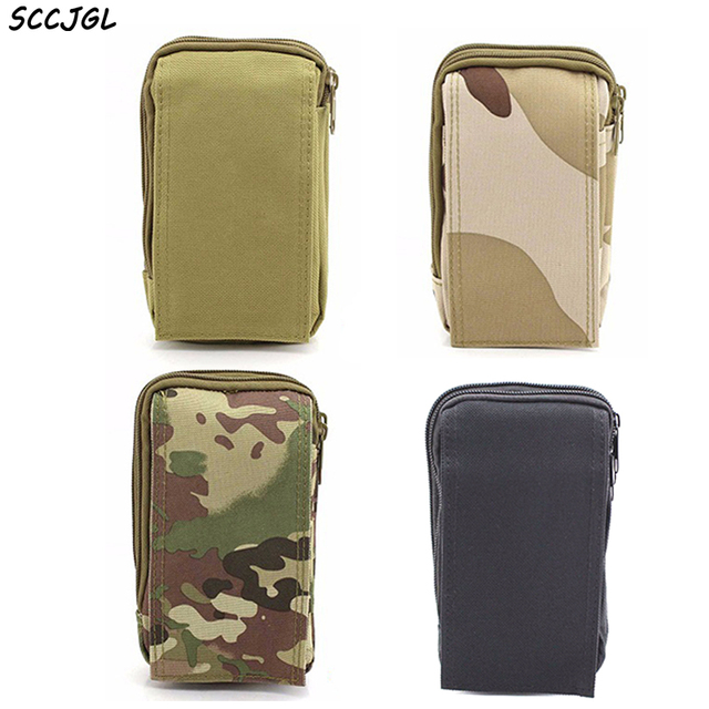 new product 5d454 ff30d US $7.95 25% OFF|5.5 Inch Tactical Pockets For iPhone 7 Plus Phone Molle  Belt Bag Pouch Case Holster Military Waist Wallet Purse Zipper-in Phone  Pouch ...