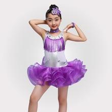 Детское профессиональное платье для латиноамериканских танцев, распродажа, платья для бальных танцев для девочек, детские костюмы для Румба ча-ча