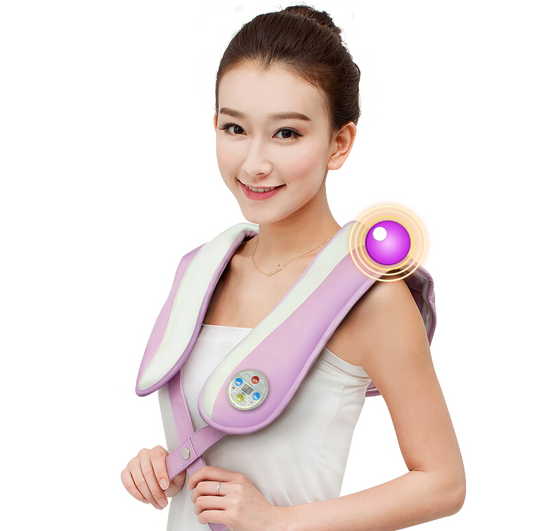 HOT Back Massage!U Shape Electrical Shiatsu Back Neck Shoulder heating Massager car Massage Pillow soft u shape cushion journey from watermelon kiwifruit orange fruit cushions tourism neck pillow autotravel pillows new hot
