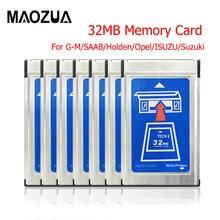 Alta qualidade para saab tech2 cartão para G-M com 6 software para holden/opel/G-M/isuzu/suzuki tech 2 32 mb cartão de memória