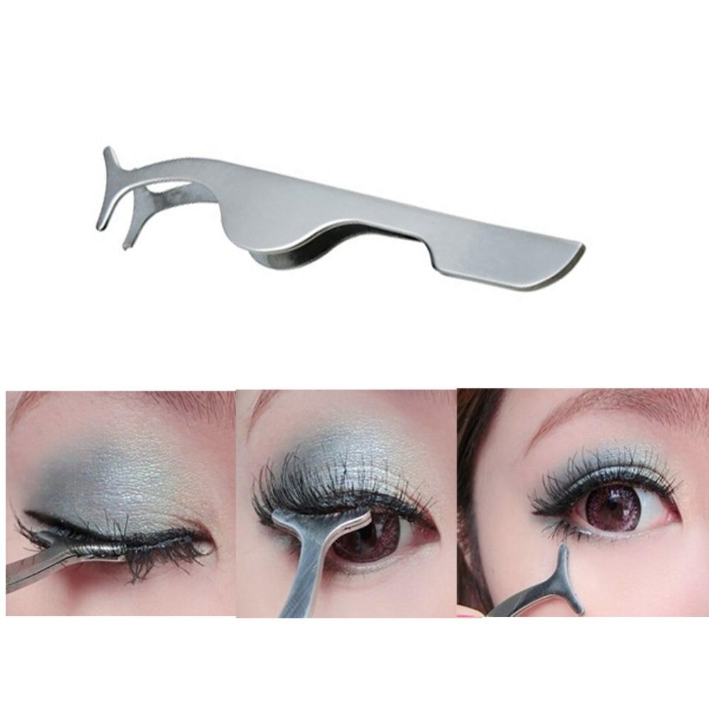 Aliexpress Buy Addfavor Fake Eyelashes Clip Stainless Steel