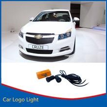 2x Призрак Тень 3D LED Добро Пожаловать Свет Для Chevrolet 7 Вт Логотип Автомобилей Двери Свет Cruze Captiva Epica Новый Лазерный проектор