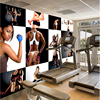 Beibehang Wallpaper Mural Custom Any Size Photo Hd Fitness Bodybuilding Beauty Handsome Photo Wall Tooling Background
