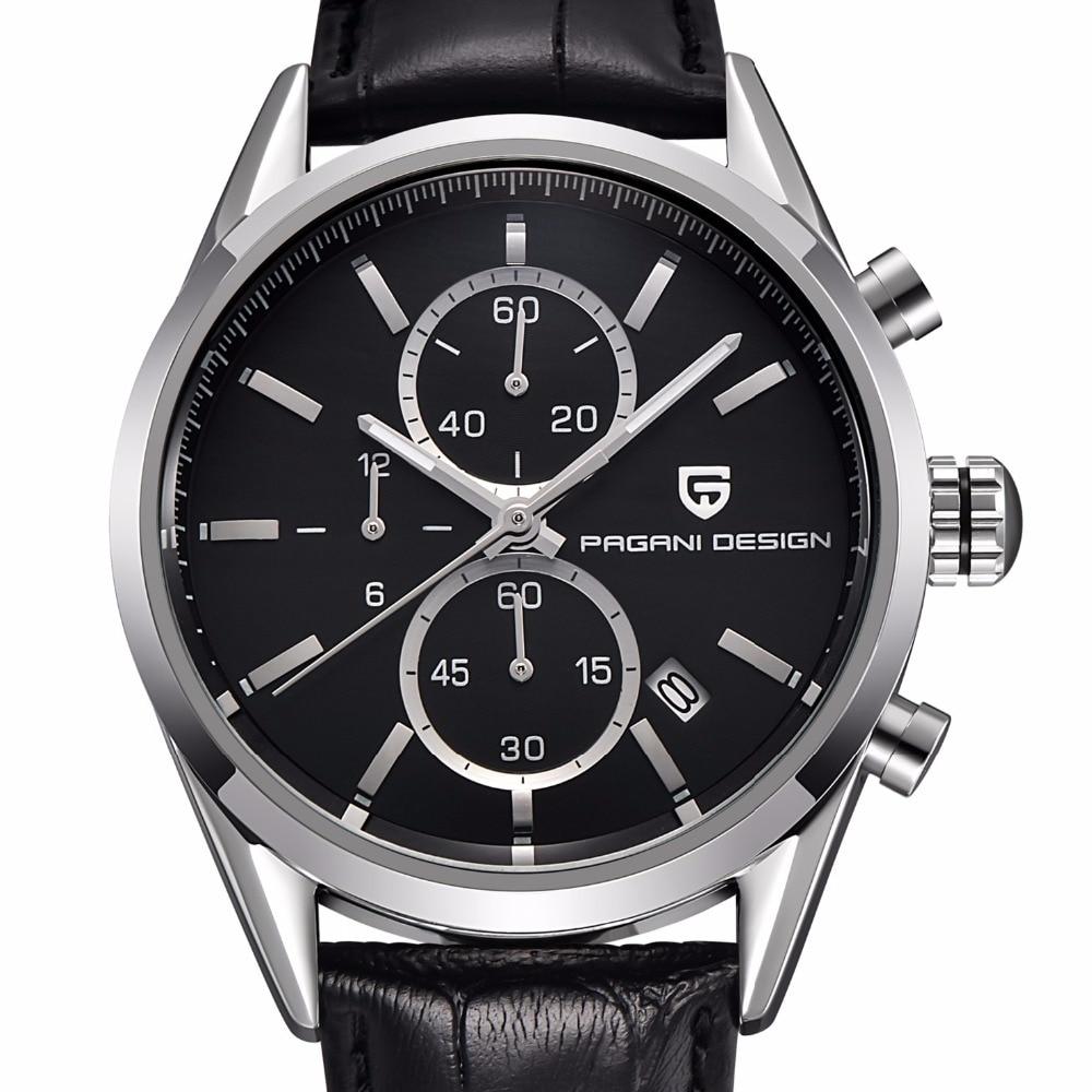 Reloj Hombre 2016 Dive 30m Quartz font b Watches b font Leather Stainless Steel font b
