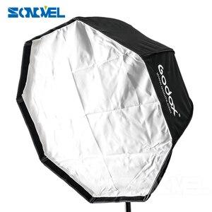 Image 3 - Godox 80cm אוקטגון אמברלה softbox אור מטריות חמה נעל ערכת סוגר פלאש Speedlite
