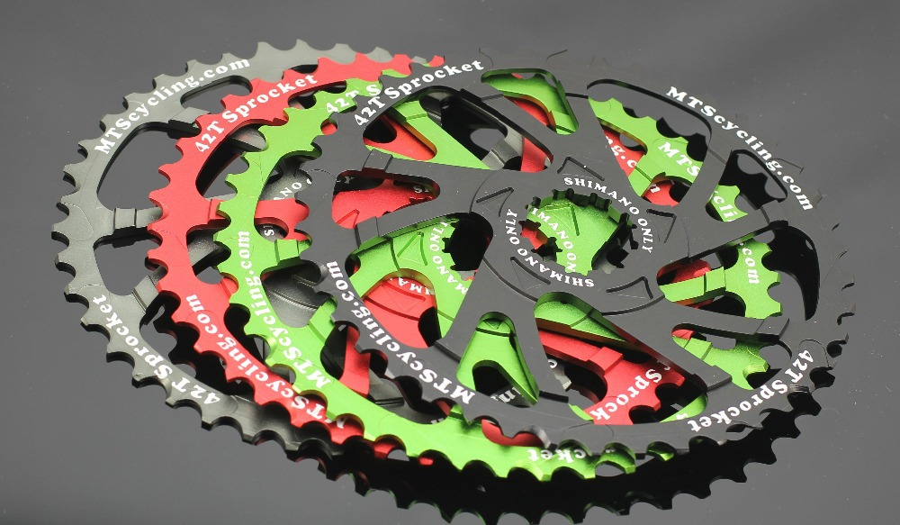 Bicycle Components & Parts Sporting Goods 42t Al6061 Sprocket Gear Of Sram Pg1030 Pg1050 Pg1070 11-36 Tape