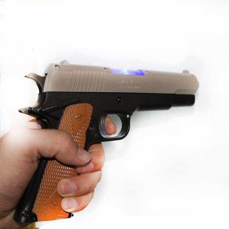 2 x Children Kids Electric Toy Machine Gun With Sound Light And Vibration