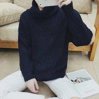 Модные мужские повседневные облегающие мужские свитер куртка зимняя куртка свитер