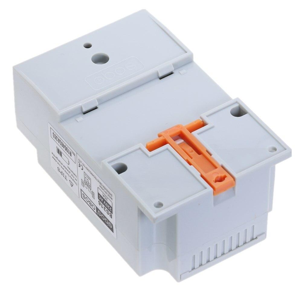 Nuovo commutatore timer digitale a barra DIN KG316T AC 220 V 50 HZ / - Strumenti di misura - Fotografia 6