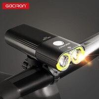 Gaciron V9D 1600 велосипед передний свет Водонепроницаемый 1600 люмен Перезаряжаемые 5000 мАч Мощность Банк фонарь Аксессуары для велосипеда