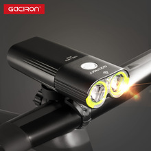 Gaciron V9D-1600 Fiets Front Light IPX6 Waterdicht 1600 Lumen Fiets Licht Usb Oplaadbare 5000 Mah Power Bank Zaklamp